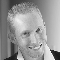 Black and white photo of consultant Jeff Teresi