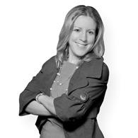 Black and white photo of consultant Jenni Vega
