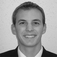 Black and white photo of consultant Nicholas Najjar