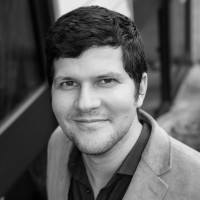 Black and white photo of consultant Gonzalo Trevino