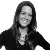 Black and white photo of consultant Chelsea Banks Rodriguez