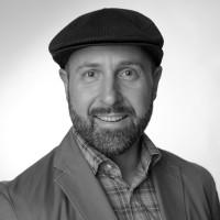 Black and white photo of consultant Matthew Hansen