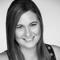 Black and white photo of consultant Laura Pozzi