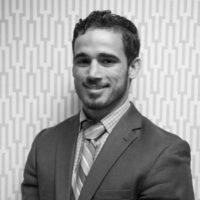 Black and white photo of consultant Eric Chandler