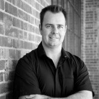 Black and white photo of consultant Bryant McFarlane