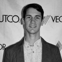 Black and white photo of consultant Luke Sasek
