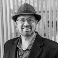 Black and white photo of consultant Matt Makowicz
