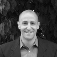 Black and white photo of consultant Robert Danbury