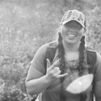 Black and white photo of consultant Faith Alexandria Perkins
