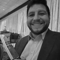 Black and white photo of consultant Seth Hochberg
