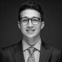 Black and white photo of consultant Jovani Pastrana