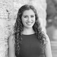Black and white photo of consultant Sara Shiff