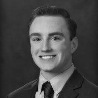 Black and white photo of consultant John Stringer