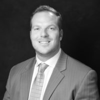Black and white photo of consultant Kevin Marr