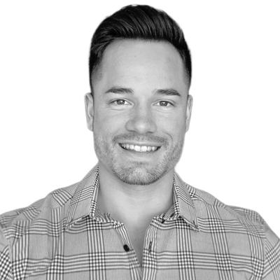 Black and white photo of consultant Matt Graves