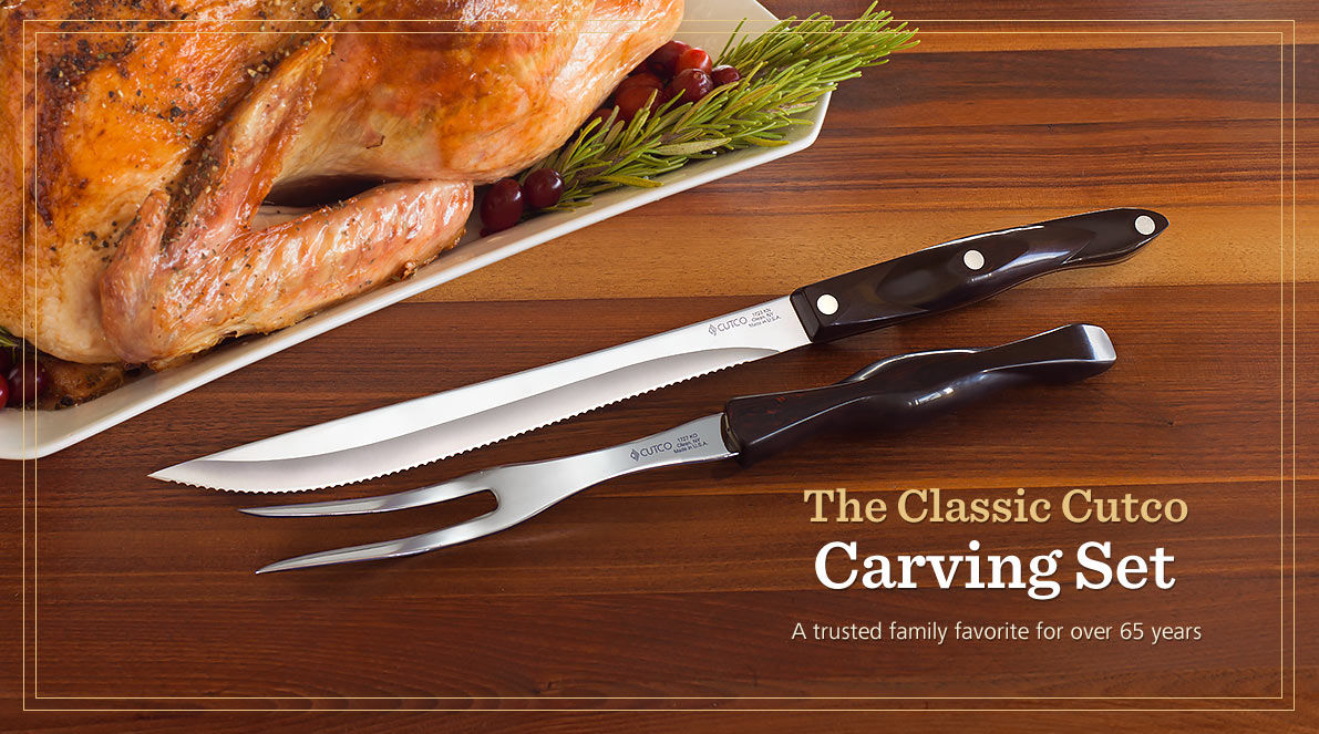 The Cutco Carving Set