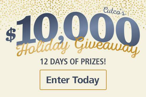 Cutco's $10,000 Holiday Giveaway
