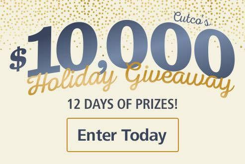 Cutco's $10,000 Holiday Giveaway