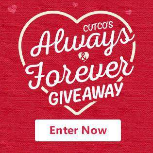 Enter Cutco's Always & Forever Giveaway!