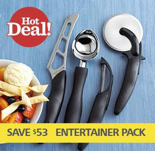 Save on Cutco's Entertainer Pack
