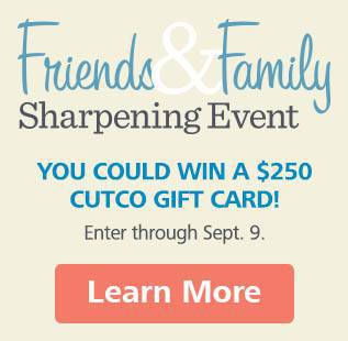 Friends and Family Sharpening Event