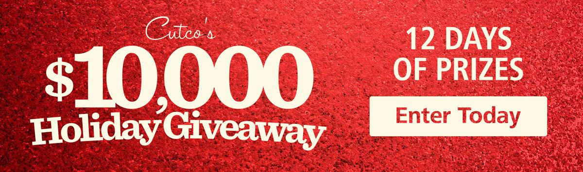 Enter Cutco's $10K Giveaway