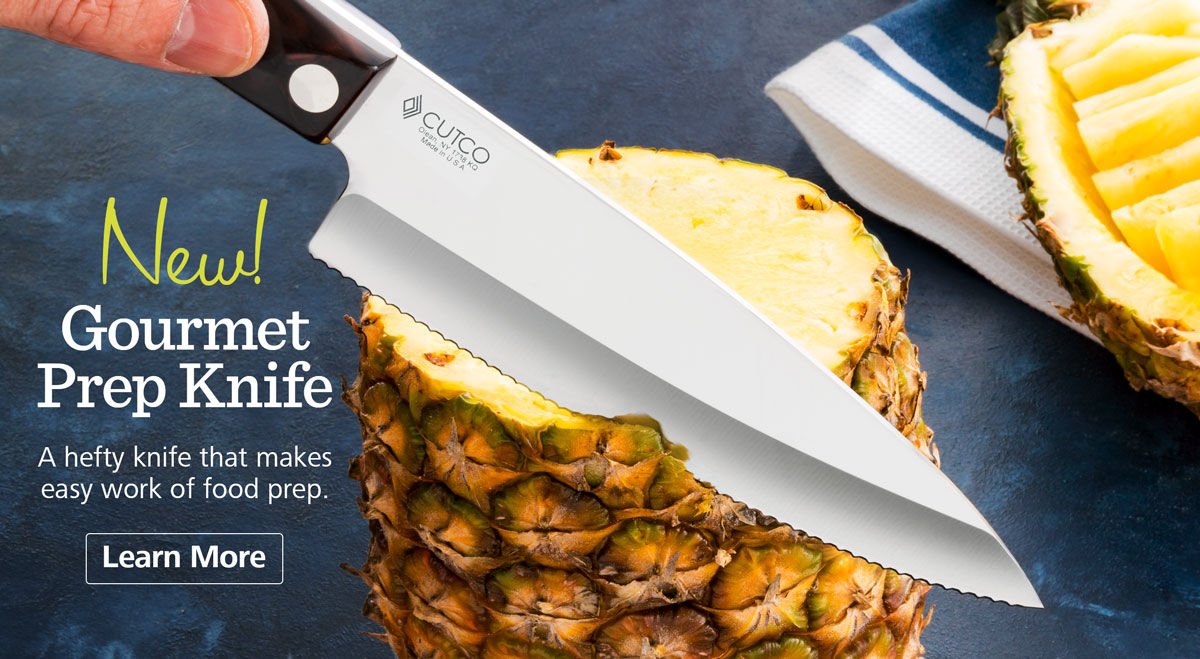 New! Gourmet Prep Knife