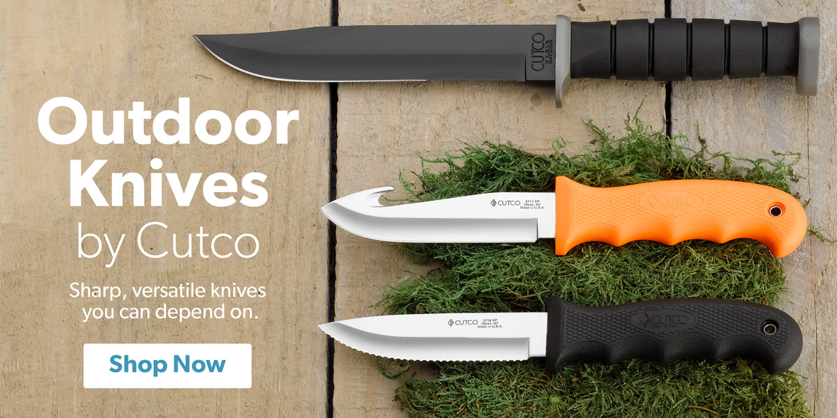 Outdoor Knives by Cutco
