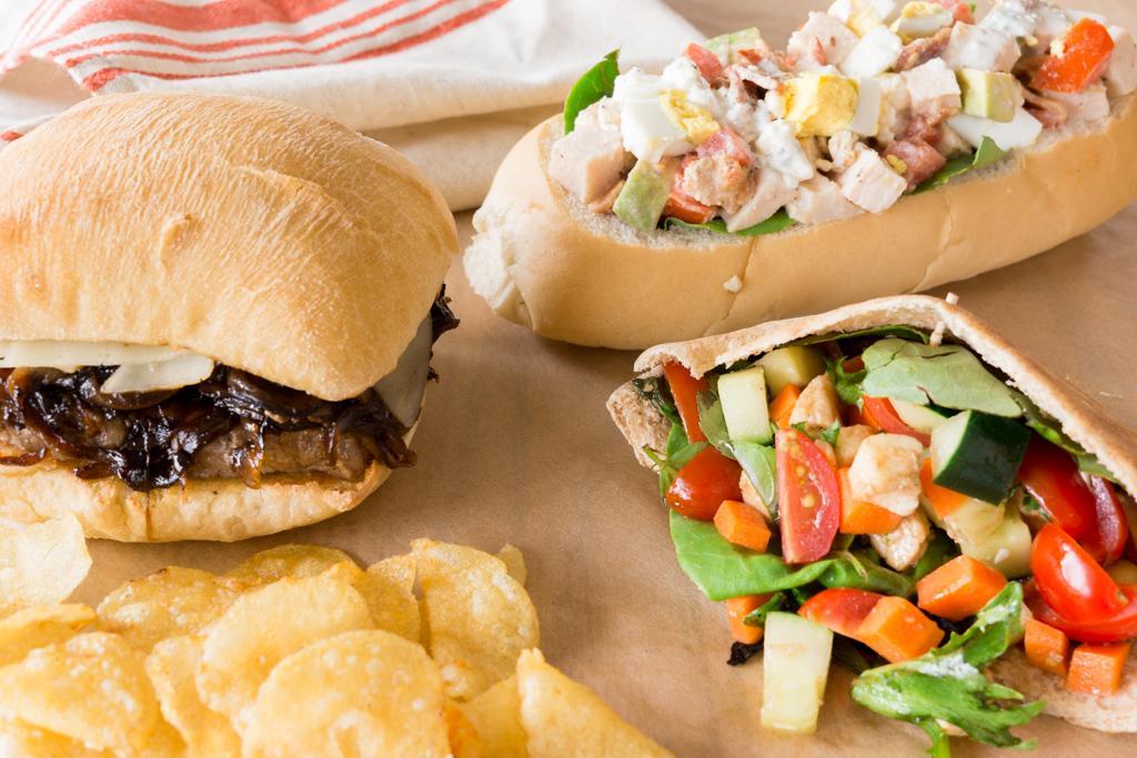 Three Dinner Sandwiches for Summer