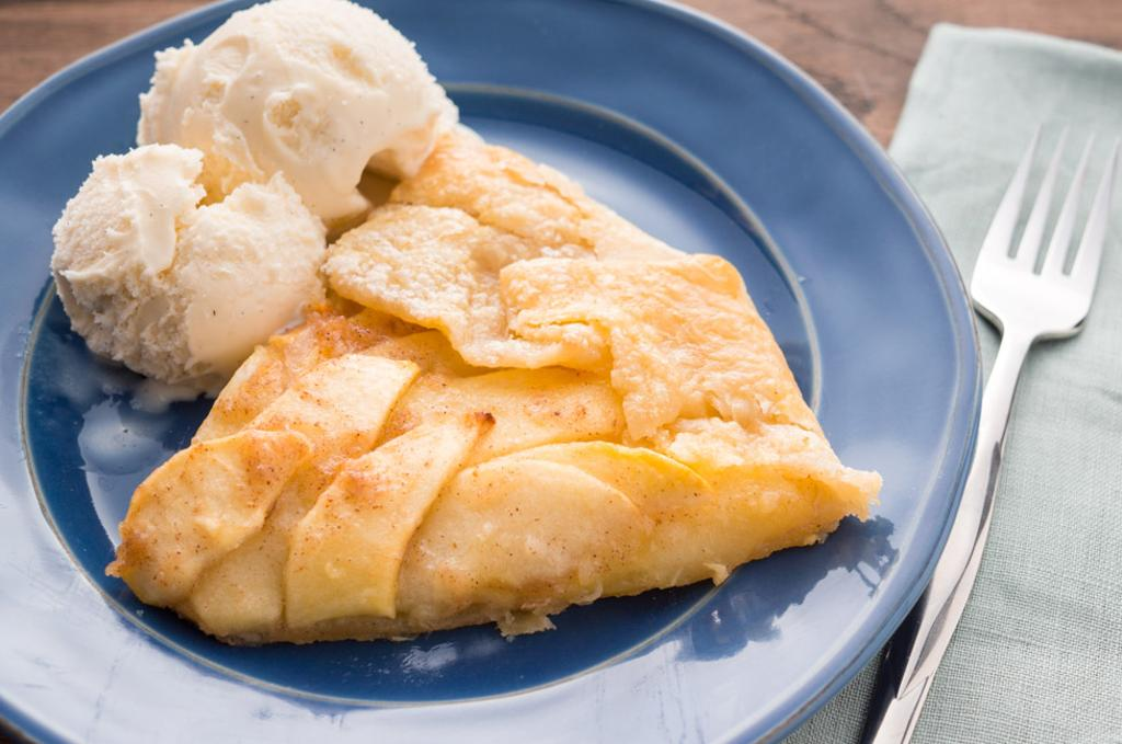 Apple Galette with Homemade Dough