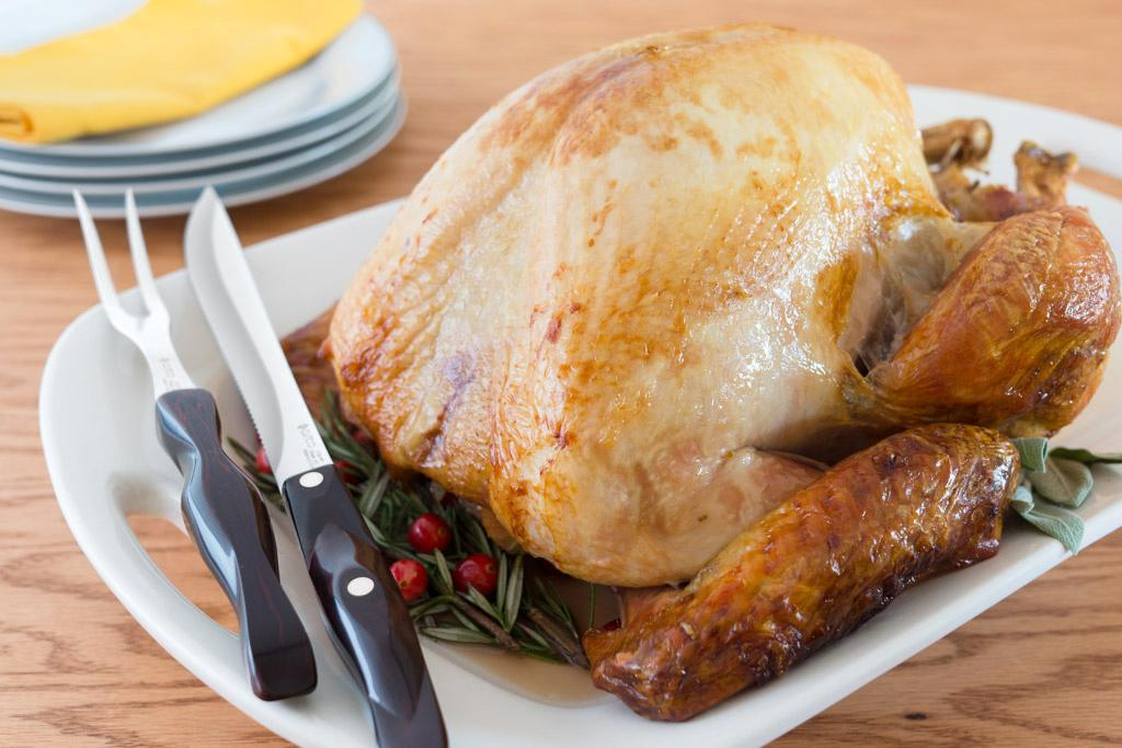 Brined Turkey from a Cutco Cook