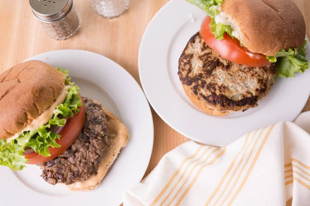 Try Mix-Ins For Healthier Burgers