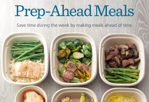 Infographic: Prep-Ahead Meals Planning