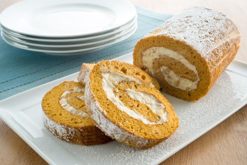 Mom's Pumpkin Roll