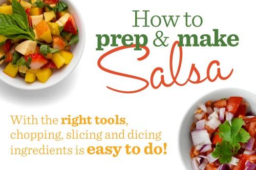 Infographic: How to Prep & Make Salsa