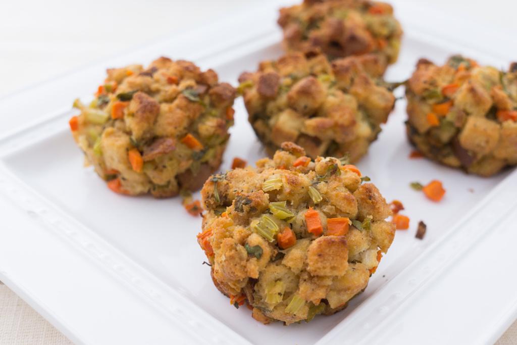 Single-Serving Stuffing Muffins