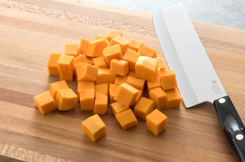 How to Dice a Butternut Squash