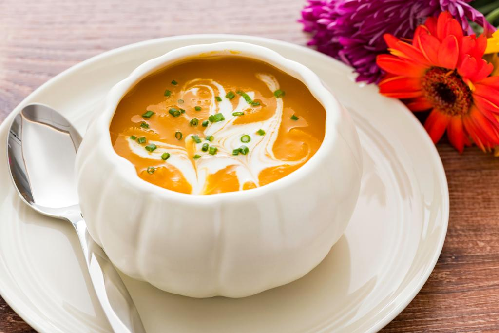 Butternut Squash Soup in an Instant