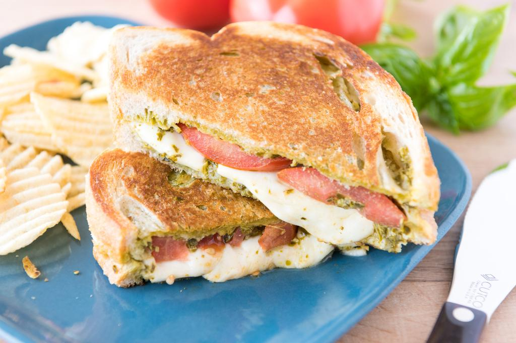 Saturdays with Barb: Caprese Grilled Cheese