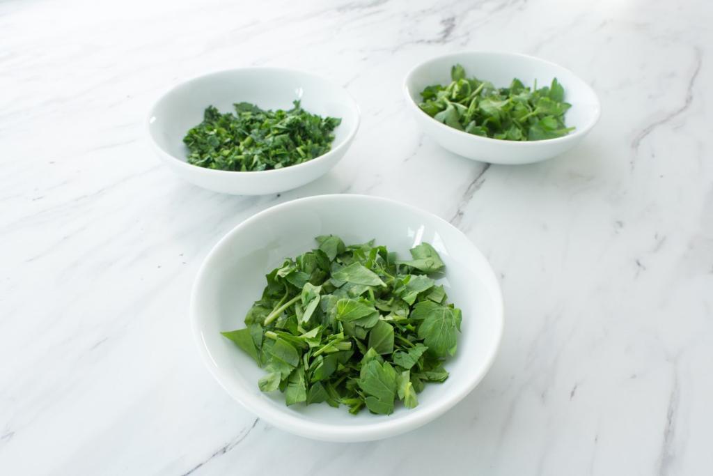 Fresh Herbs (Part 2): Cutting & Cooking