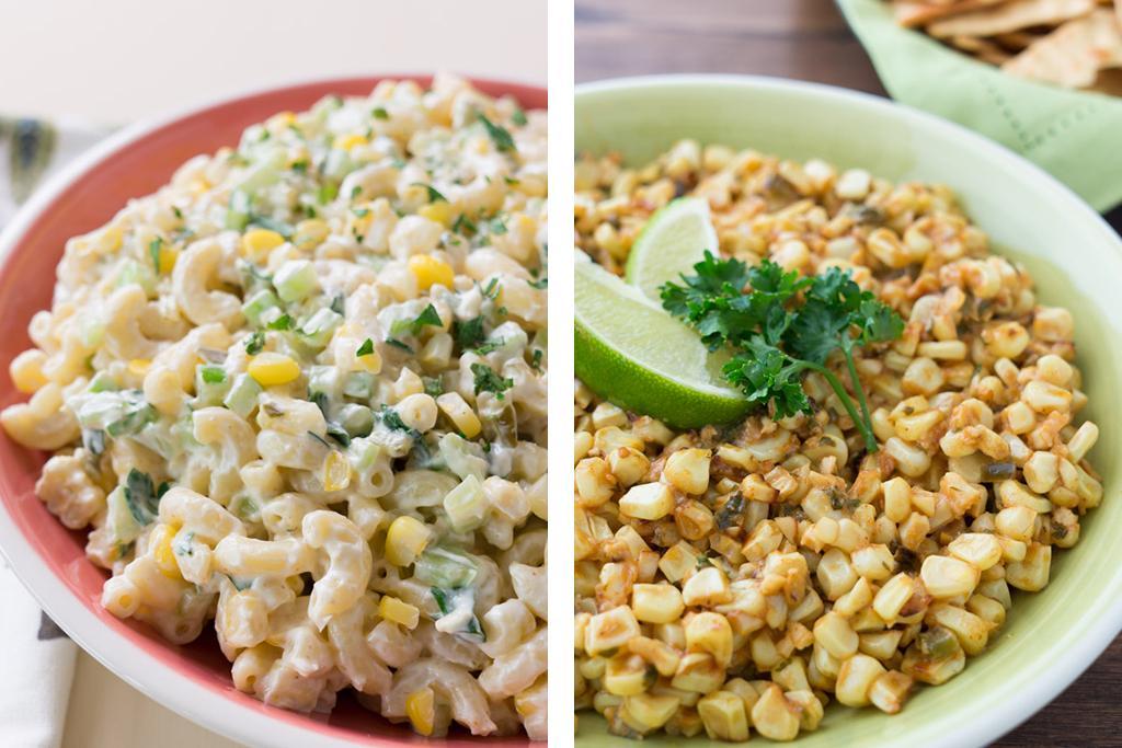 Fresh Corn Sides Dishes