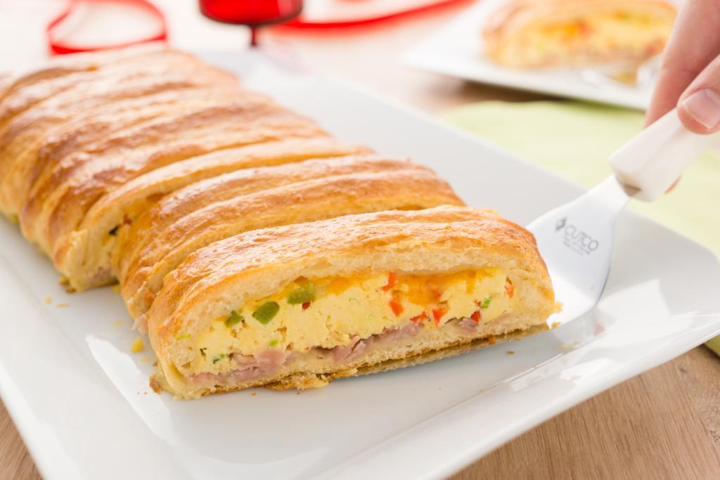 Crescent Roll Egg Bake