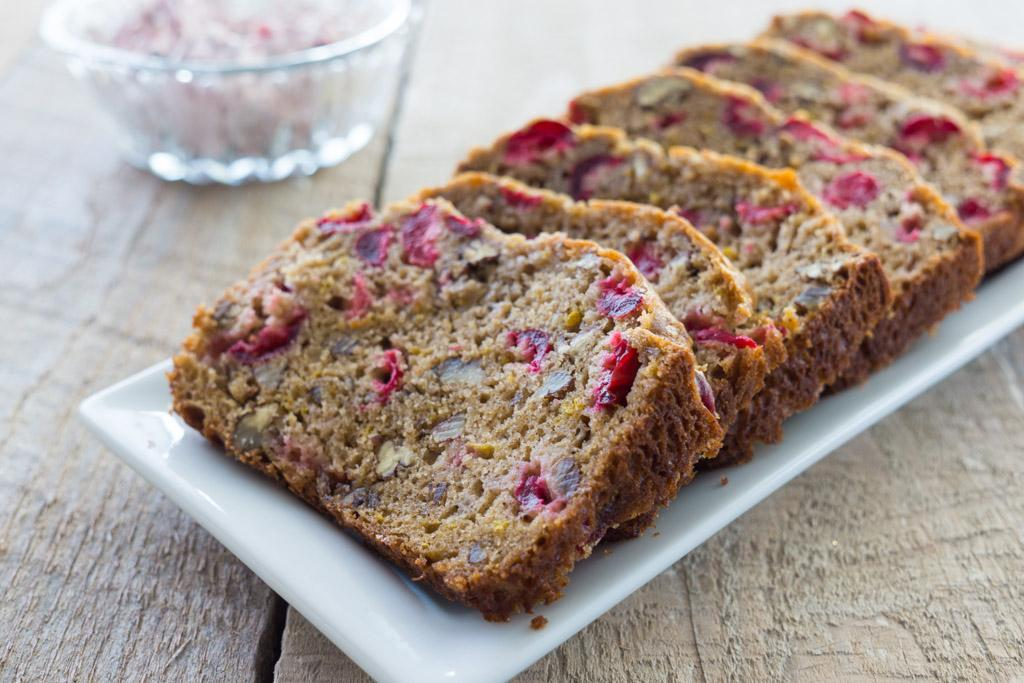 Easy Cranberry Bread