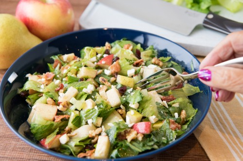 Saturdays with Barb: Fall Fruit Chopped Salad