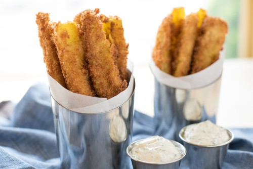 Saturday's with Barb: Deep Fried Pickles with Ranch Dip