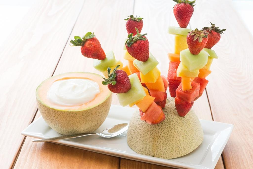 Kid-Friendly Fruit Wands for Mother's Day