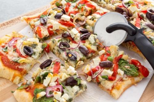 Simple Greek Pizza