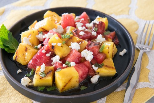 Chef Glover's Grilled Pineapple and Watermelon