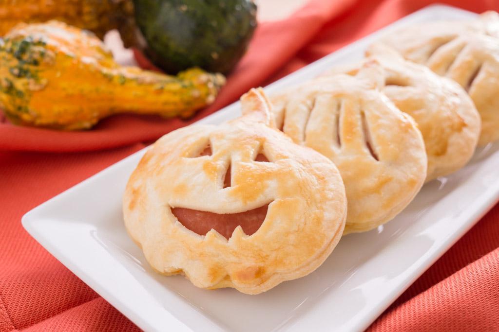 Halloween Appetizer Sandwiches