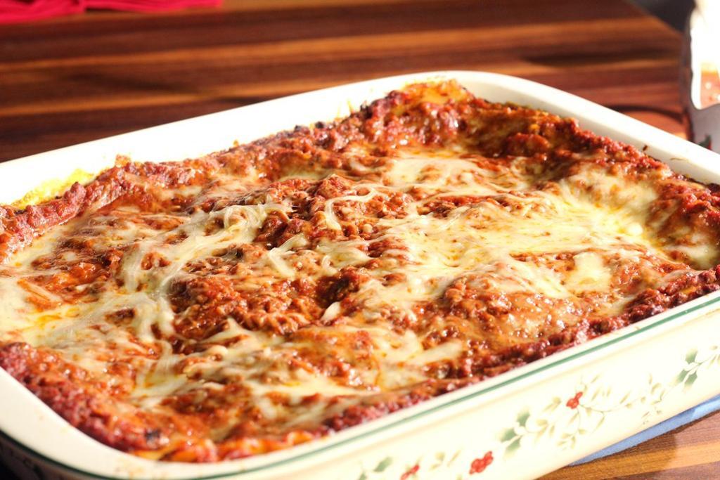 Christmas Eve Lasagna, a Family Tradition